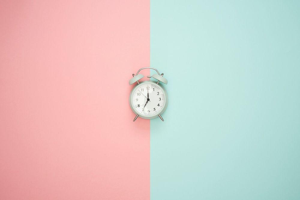 Clock two tones